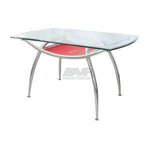 Стол обеденный AMF 936 1350x800x760 мм красный