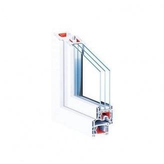 Окно металлопластиковое KBE 76 AD