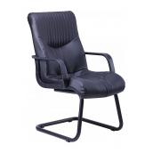 Кресло AMF Геркулес CF кожа Сплит черная 61x80x103 см