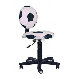 Детское кресло AMF Футбол 610x610x710 мм белый