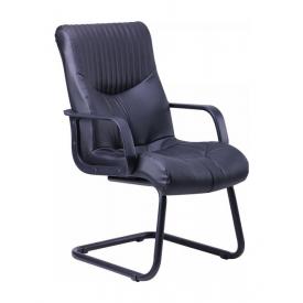 Крісло AMF Геркулес CF шкіра Спліт чорна 61x80x103 см