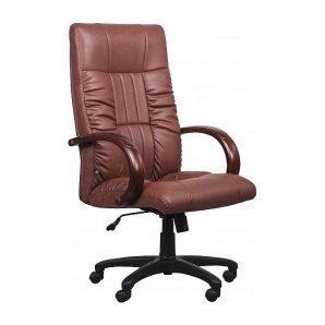 Кресло AMF Консул НВ PU коричневый  64x69x112 см