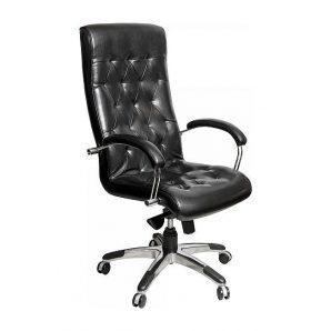 Кресло AMF Бристоль HB MB Лаки черный 64x74x120 см хром