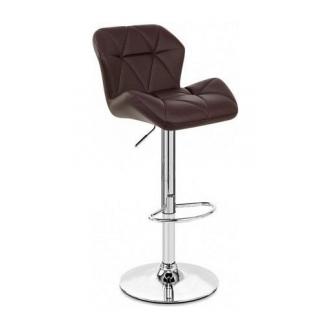 Барный стул AMF Венсан к/з коричневый (FT-902A) 430х480х1070 мм