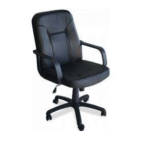 Кресло AMF Смарт Пластик Скаден черный 66x79x101 см