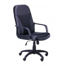 Крісло AMF Анкор Пластик Скаде чорний 65x81x113 см сітка чорна