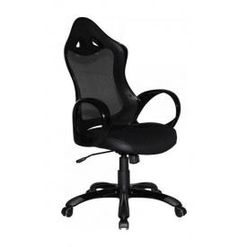 Крісло AMF Матрикс-2 сітка чорна/сітка чорна 69x76x113 см чорний