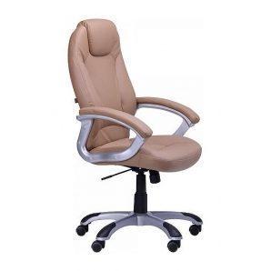 Кресло AMF Неон HB PU бежевый 67x66x115 см