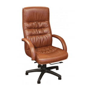 Кресло AMF Орхидея HB PU коричневый  67x70x116 см