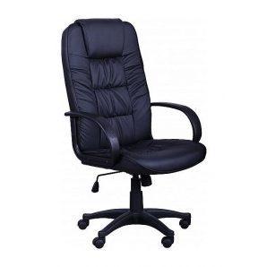 Кресло AMF Спарк HB PU черный 65x64x115 см