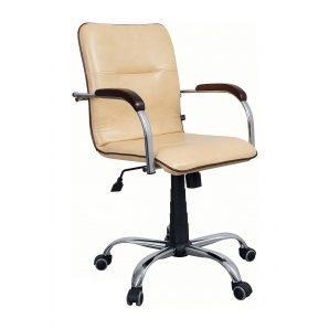 Крісло AMF Самба-RC Софт Неаполь N-16 64x68x89 см хром