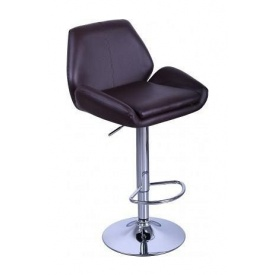 Барный стул AMF Вояж к/з коричневый (FT-1003) 520х470х880-1080 мм