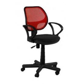 Крісло AMF Чат АМФ-4 А-1/сітка червона 60x68x87 см