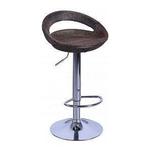Барный стул AMF Санти 465х400х765-970 мм пластик/ротанг