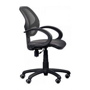 Кресло AMF Байт АМФ-4 сетка черная 65x65x87 см