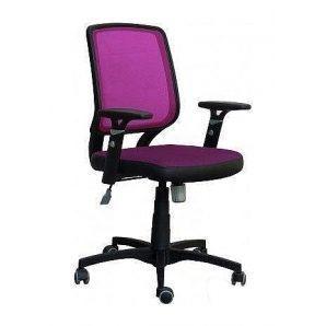 Кресло AMF Онлайн сетка бордовая 65x65x93 см