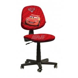 Дитяче крісло AMF Актив Дісней Тачки Блискавка Маккуін 590x590x850 мм червоний