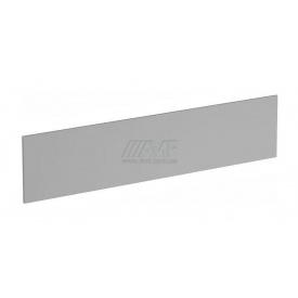 Перегородка AMF 185 М-312 1850X18х400 мм серый