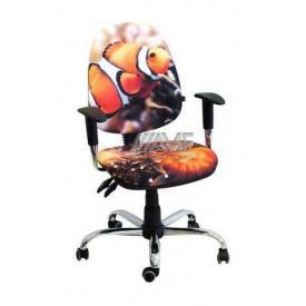 Кресло детское AMF Бридж Рыбка 650х650х1090 мм хром