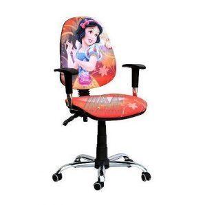 Кресло детское AMF Бридж Дисней Белоснежка 650х650х1090 мм хром