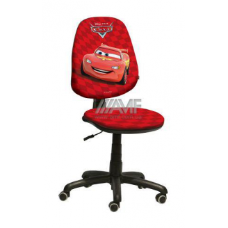 Крісло дитяче AMF Поло 50 Дісней Тачки Блискавка Маккуїн 670х670х1060 мм