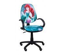 Крісло дитяче AMF Поло 50 / АМФ-5 Дісней Принцеса Аріель 670х670х1060 мм