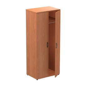 Шкаф гардеробный AMF Uno R-11S 82x55x200 см вишня