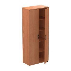 Шкаф для документов AMF Uno R-11 82x42x200 см вишня