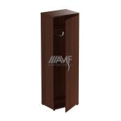 Шкаф для одежды AMF Магистр МГ-901 600х420х1844 мм орех темный