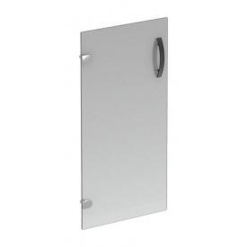 Дверцята для двосекційної шафи AMF Uno R-85 390x4x760 мм скляні