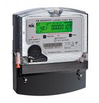 Счетчик электроэнергии NIK 2303 АK1М электронный трехфазный 3х220/380В