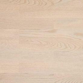 Паркетна дошка BEFAG трьохполосна Дуб Рустик 2200x192x14 мм перлинно-білий лак