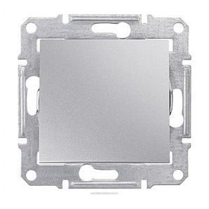 Выключатель кнопочный Schneider Electric Sedna SDN0700160 71х71х42 мм алюминий