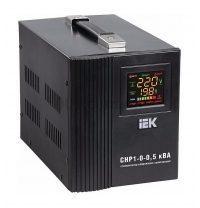 Стабилизатор напряжения IEK СНР1-0-0,5 кВА электронный переносной