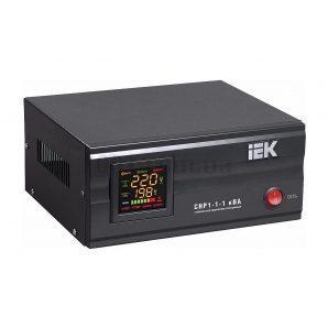 Стабилизатор напряжения IEK СНР1-1-1 электронный стационарный 1 кВА