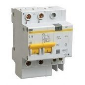 Диференціальний автомат IEK АД12 2Р 32 А 30 мA