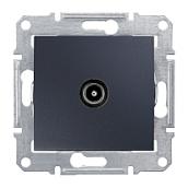 Розетка TV Schneider Electric Sedna SDN3201670 конечная 70х64х40 мм графит