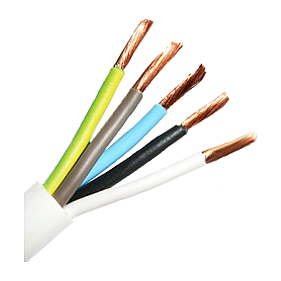 Провод для электроприборов ПВС ЗЗЦМ 5х4