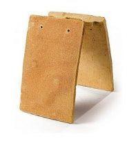 Керамическая черепица Heritage TRINITY BUFF 265х165 мм