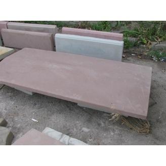 Парапет 1000х510х70 мм коричневый
