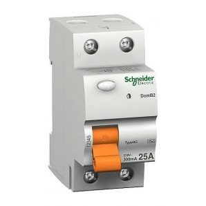 Дифференциальный выключатель УЗО Schneider Electric ВД63 2п 25A 300mA