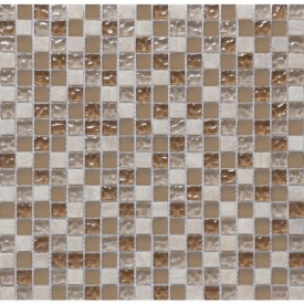 Мозаїка мармур скло VIVACER 1,5х1,5 CS06, 30х30 см