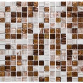 Мозаика Авантюрин VIVACER GLmix26 32,7х32,7 cм