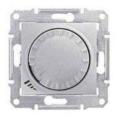 Светорегулятор Schneider Electric Sedna SDN2200860 поворотно-нажимной универсальный алюминий