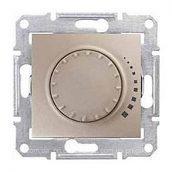 Светорегулятор Schneider Electric Sedna SDN2200568 поворотно-нажимной индуктивный титан