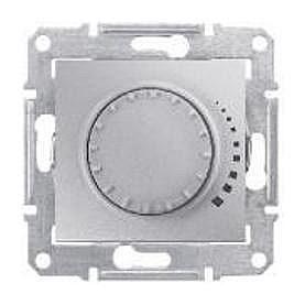 Светорегулятор Schneider Electric Sedna SDN2200660 поворотный емкостный алюминий
