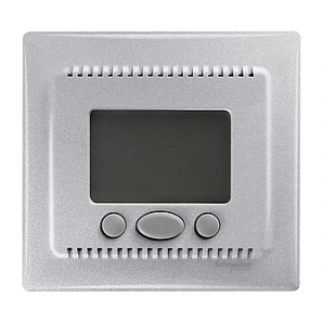 Термостат Schneider Electric Sedna SDN6000260 алюминий