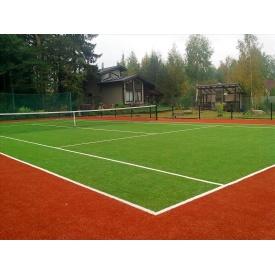 Синтетическое искусственное покрытие для тенниса