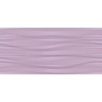 Керамическая плитка Inter Cerama BATIK для стен 23x50 см фиолетовый темный