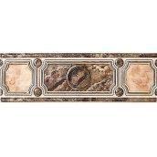 Бордюр Inter Cerama PIETRA 23x7,5 см коричневый